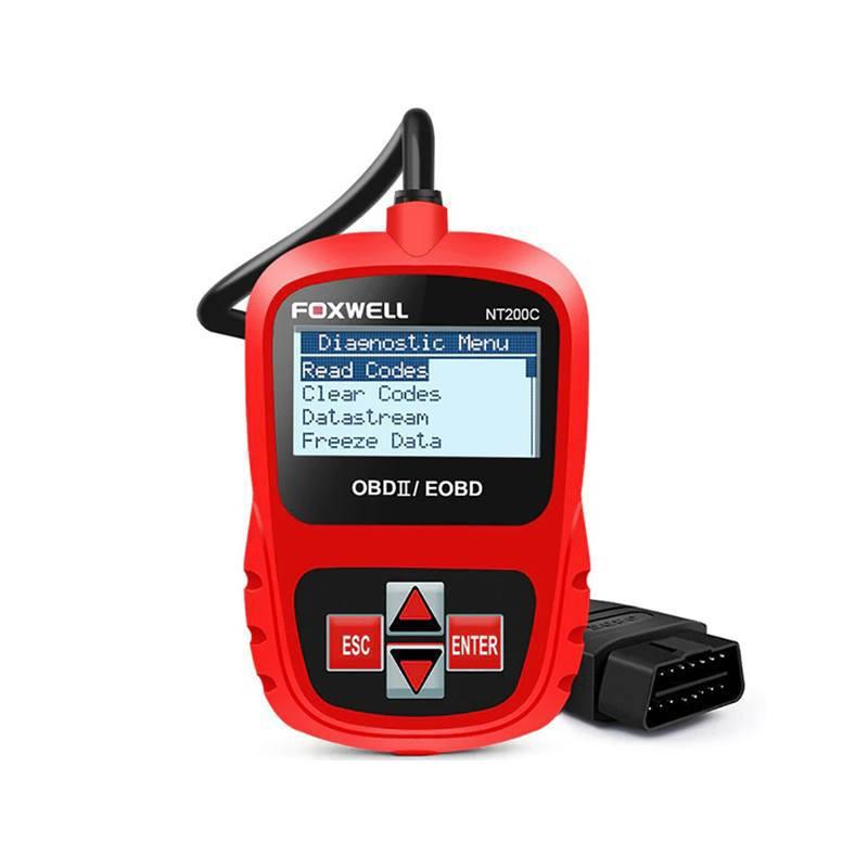 Scanner Automotriz Foxwell NT200C