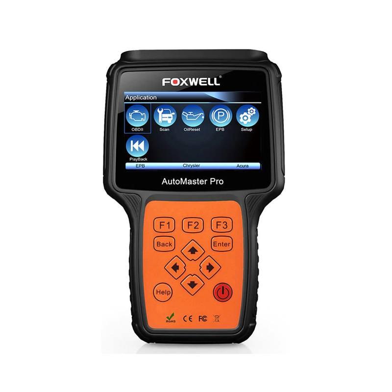 Escaner Automotriz Foxwell NT624 PRO ABS Airbag SRS SAS EPB y más.
