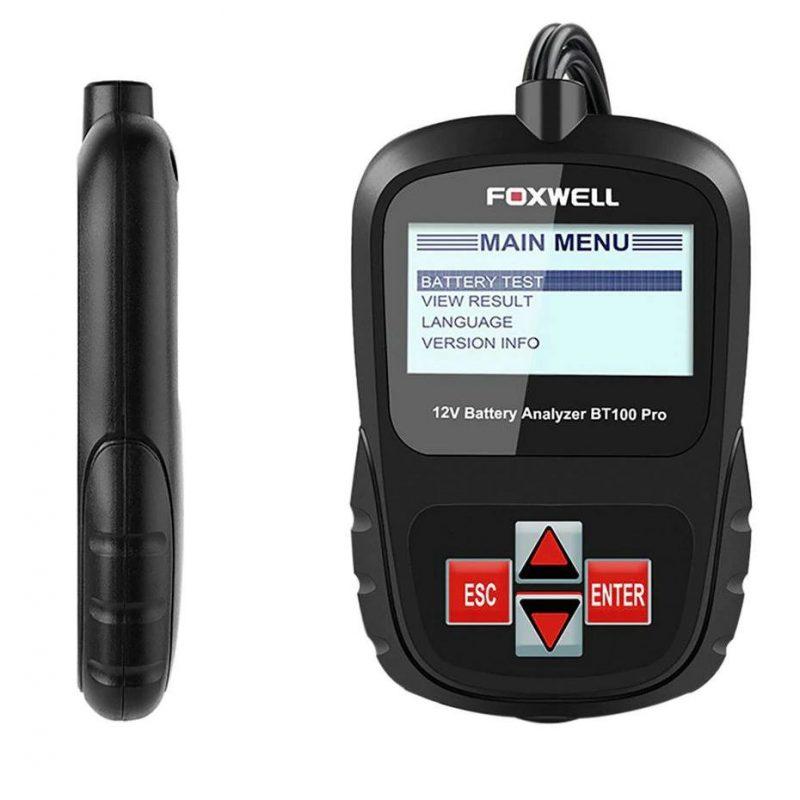 Analizador de batería Foxwell BT100 Pro