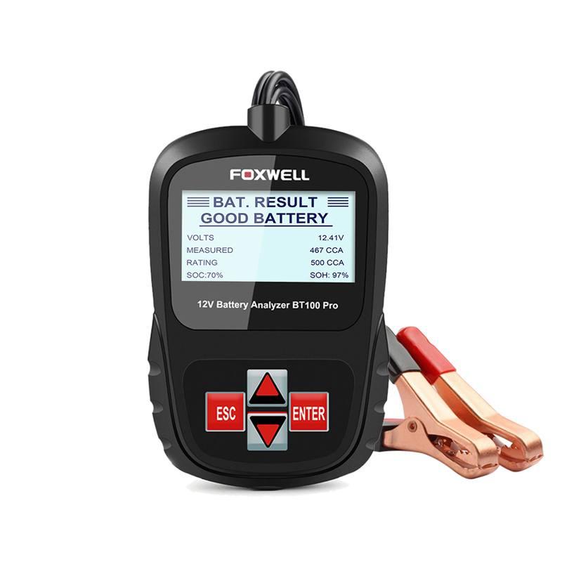 Analizador de batería Foxwell 12v BT100 Pro