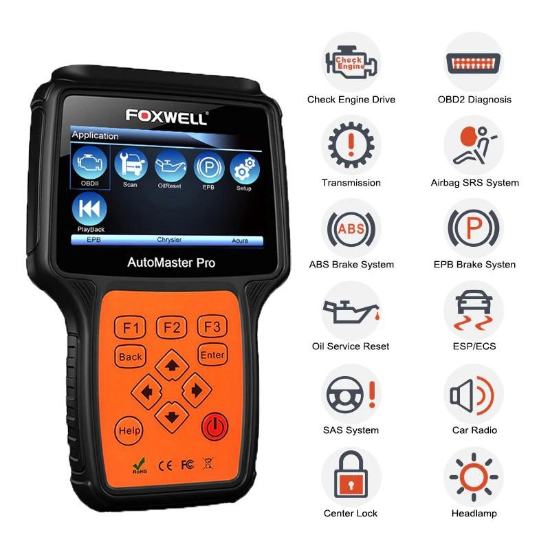 Scanner Automotriz Foxwell NT624 PRO