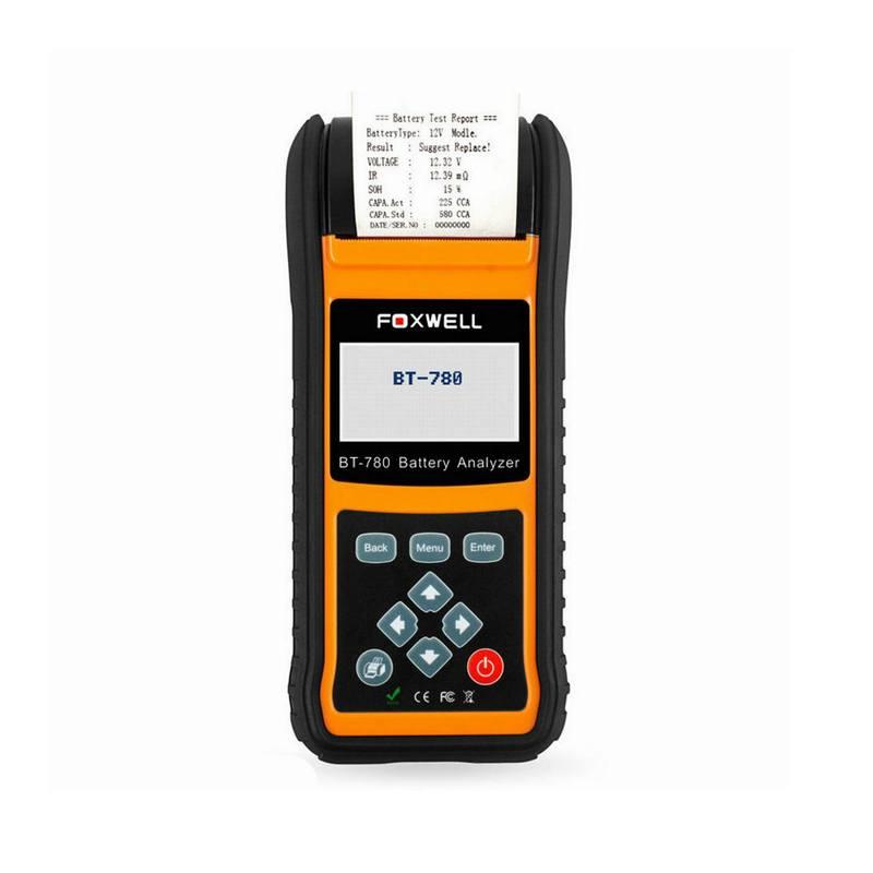 Analizador de batería Foxwell BT780