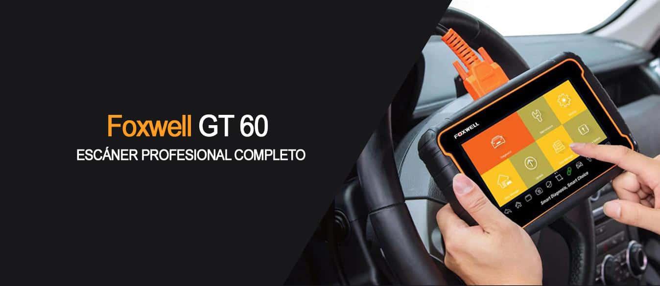 Scanner Automotriz Foxwell GT60