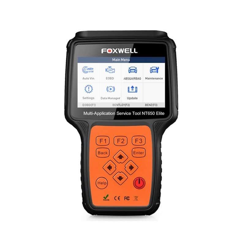 Scanner Automotriz Foxwell NT650 Elite